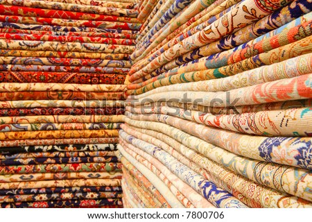 Persian carpets iranian carpets rugs stock photo 7800727 for Tapete orientalisch turkis