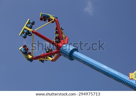 Cherry Picker Work Bucket Platform Hydraulic Stock Photo 304189055 ...