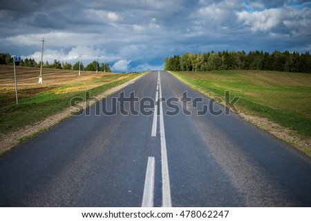 perspective road