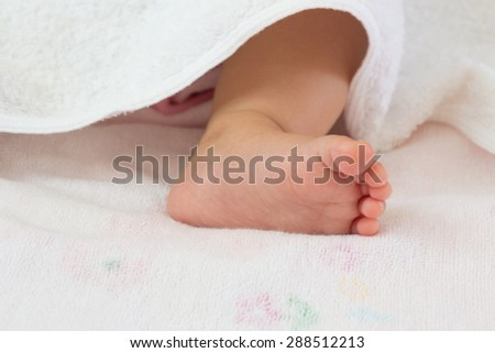 Photo of baby feet