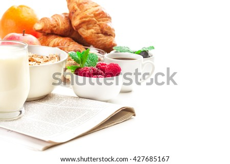 Photo of healthy breakfast