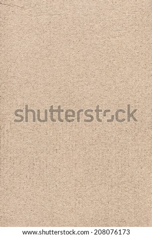 Photograph of striped Beige Recycle Paper, coarse grain, grunge texture sample