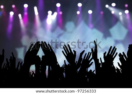 hands in the air rock concert  Hands In The Air Rock Concert