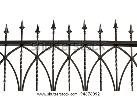 wrought iron gates for sale gumtree fence toronto stock photo photos isolated craigslist