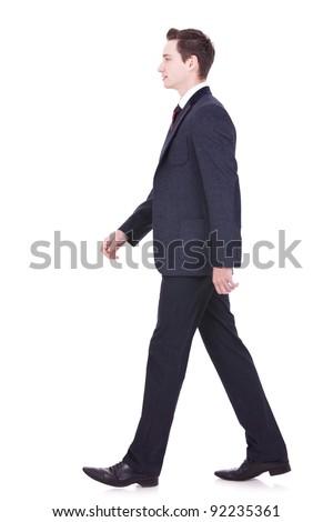 Walking People Side