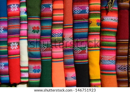 Picture of handmade texture from Salta province