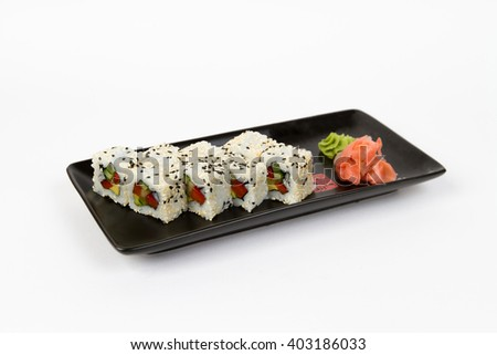 Picture of maki with vegetables