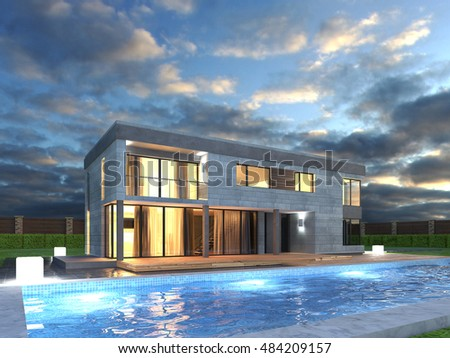 "Modern Architecture Render dumuluma's ""architecture stock images, modern pictures, stock"