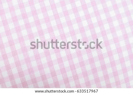 Pink And White Checkered Fabric, Pink Gingham Tablecloth