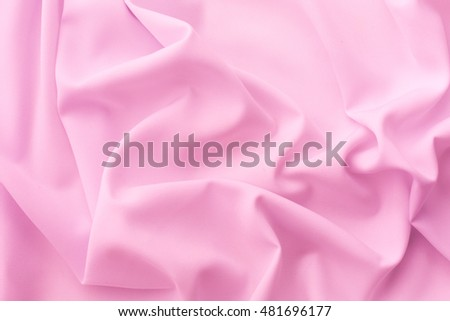 pink fabric texture background ,wavy fabric