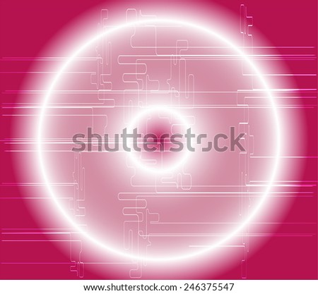 Ovum Detailed Drawing Beautiful Design On Stock Vector ...