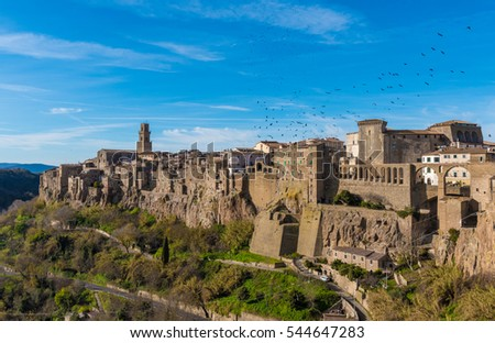 "Pitigliano (Italy) - The gorgeous medieval town in Tuscany region, known as ""The Little Jerusalem"""
