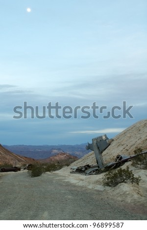 Plane Crash In The Desert