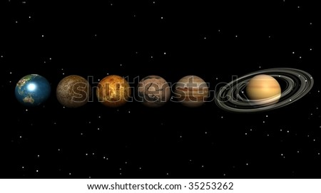 Planet in the universe