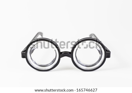 Plastic glasses with crystal detail great graduation goggles, vision problems, myopia