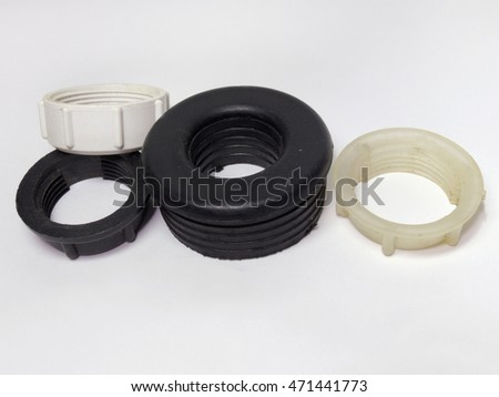 Parts Disassembled Ceramic Rubber Shutoff Valves Stock