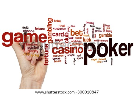 Words related to poker