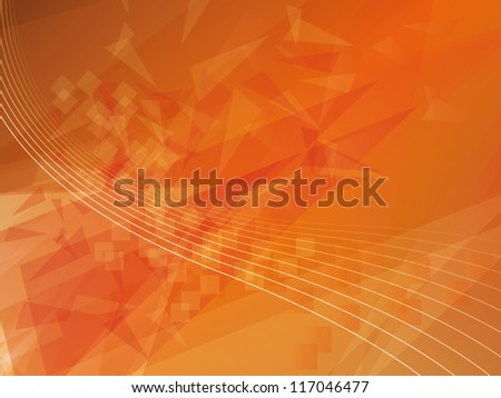 polygonal futuristic abstract background