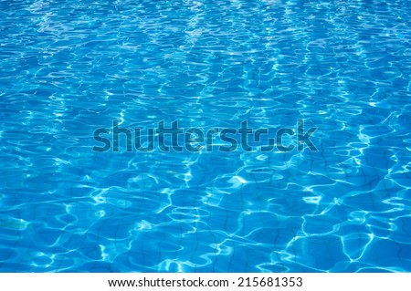 how to make pool water clear blue