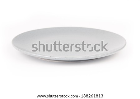 Porcelain isolated on white background