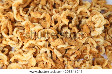 Pork rind, Pork scratchings, Pork crackling in Thailand