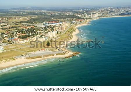 Port elizabeth south africa aerial shot stock photo - Population of port elizabeth south africa ...