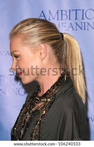 Portia De Rossi  at the Los Angeles Premiere of 'Ambition to Meaning, Finding Your Life's Purpose'. Egyptian Theatre, Hollywood, CA. 01-08-09