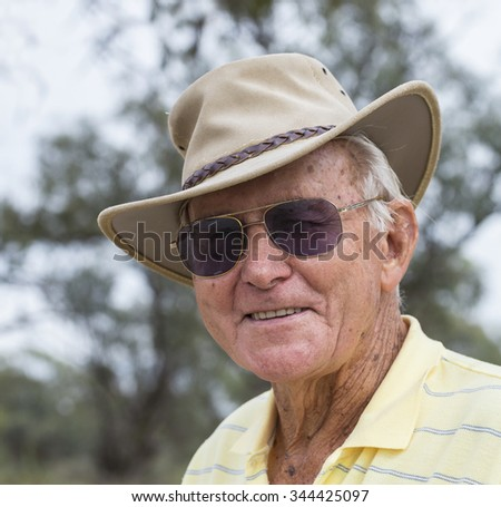 Portrait Elderly Man