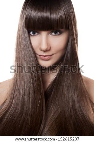 Fine Sexy Girl Beautiful Long Straight Hair Stock Photo 74615965 Short Hairstyles For Black Women Fulllsitofus