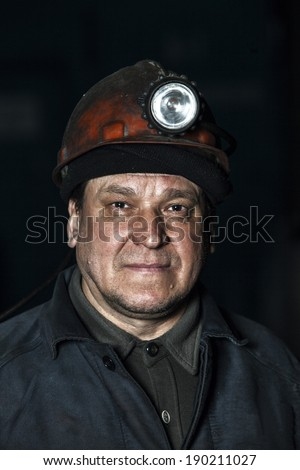 Portrait of a worker at the factory