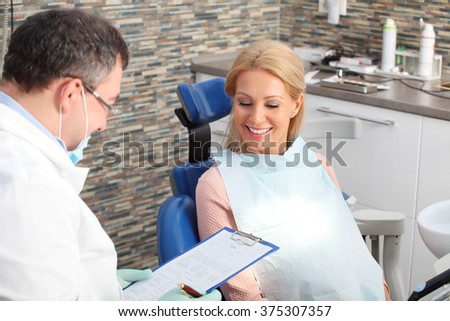 Hand job at the dentist office