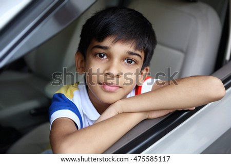 Portrait of indian boy