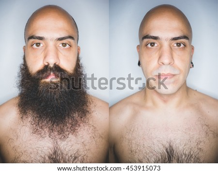 funny elegant bearded man touching beard stock photo 138012776 shutterstock. Black Bedroom Furniture Sets. Home Design Ideas