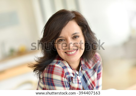 stock photo portrait of middle aged brunette woman 394407163 Picking Out Quick Systems In mail order wives