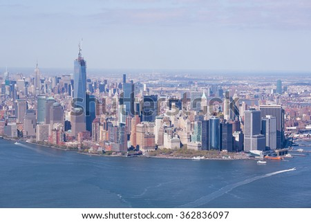 Portrait of the city of New York