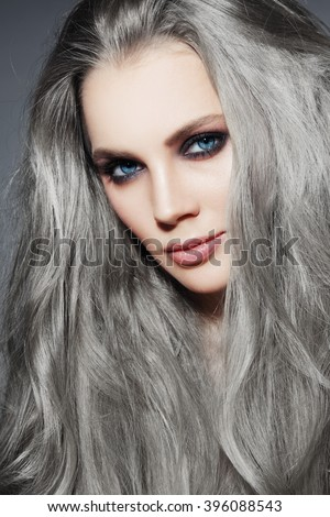 how to make gray hair turn white