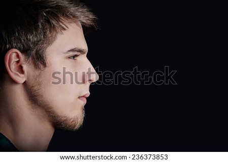 Portrait Close Young Man Stock Photo 111102212 - Shutterstock