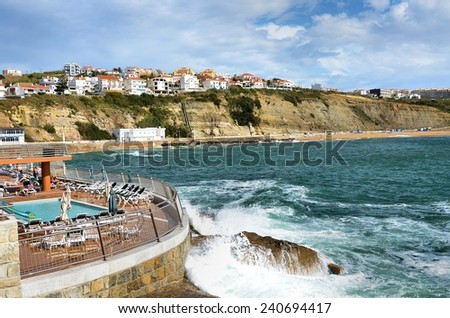 Portuguese sea coast and the famous cliffs