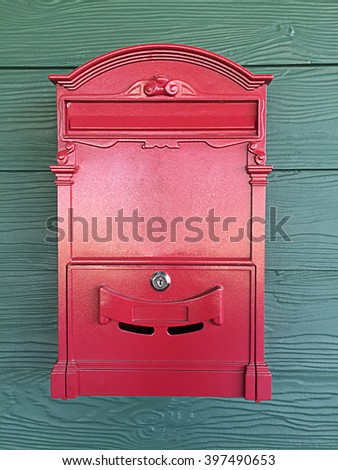 Postbox red
