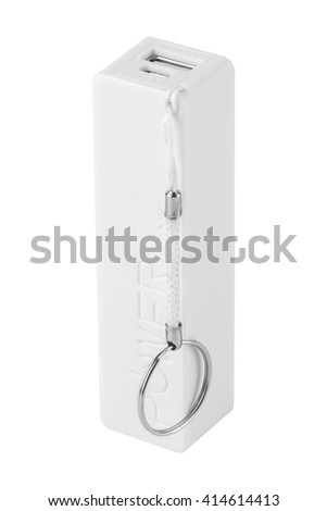 power bank. Isolated on white background