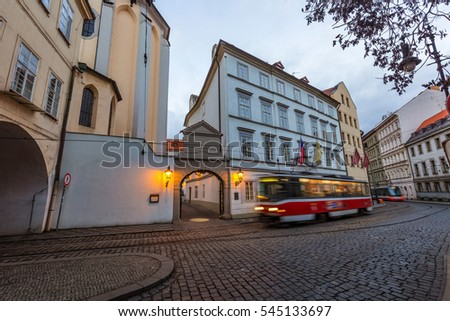 old tram prague street - photo #21