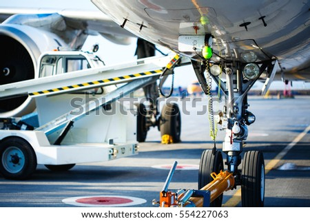 Car Wheel Alignment Check Large Pickup Stock Photo
