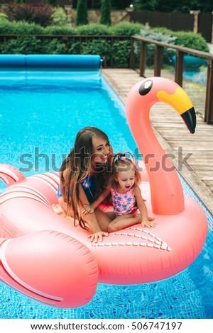 Beautiful Pregnant Woman Wearing Swimsuit Lying Stock Photo 523864897 Shutterstock