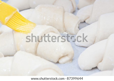 Preparation of donuts in the home kitchen