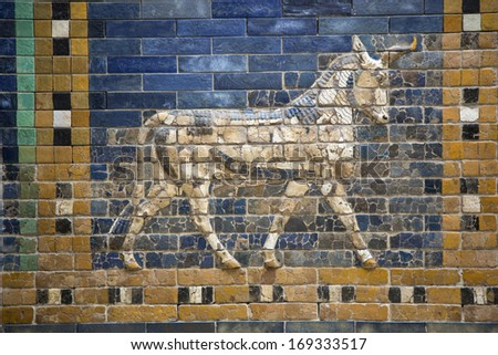 Preview animals on the Ishtar Gate