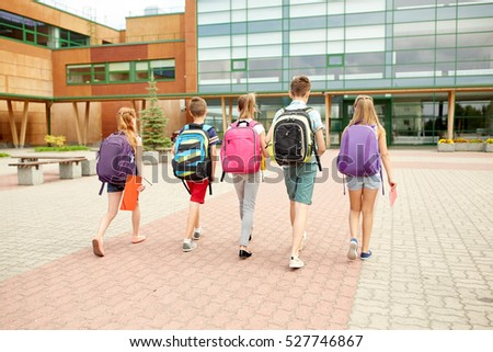 ✮ SPIRIT BRINGERS: THE SIDER STORIES (ANTES LABERINTO DE LA DEMENCIA ☠) - Página 8 Stock-photo-primary-education-friendship-childhood-and-people-concept-group-of-happy-elementary-school-527746867