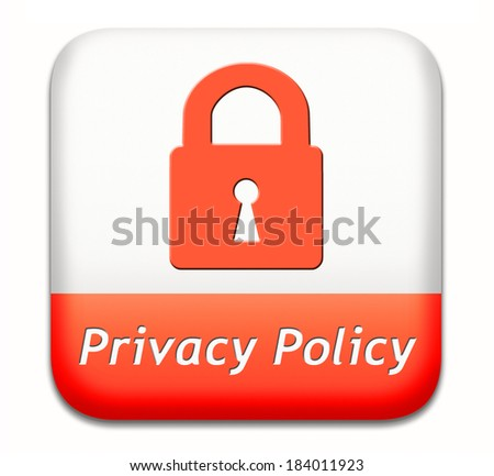 Photo privacy policy terms of use for data and personal information