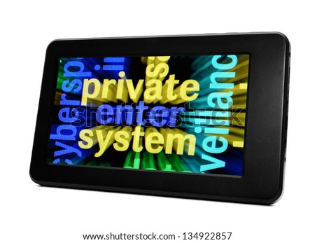 Private enter system