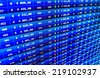 Professional bank broker workstation. Dollars table computer. Ticker board. Business stock exchange. Business stock exchange. Computer screen. Stock profit graph for diagram. Graph background.   - stock photo