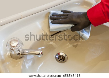 Professional Bathroom Cleaning, Sink